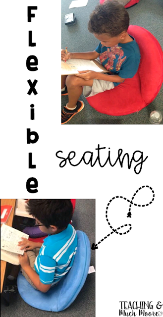 A Year of Flexible Seating: everything I learned (the good and the bad) from my first year with flexible seating!