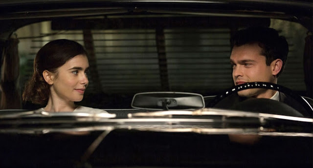 Lily Collins and Alden Ehrenreich Rules Don't Apply