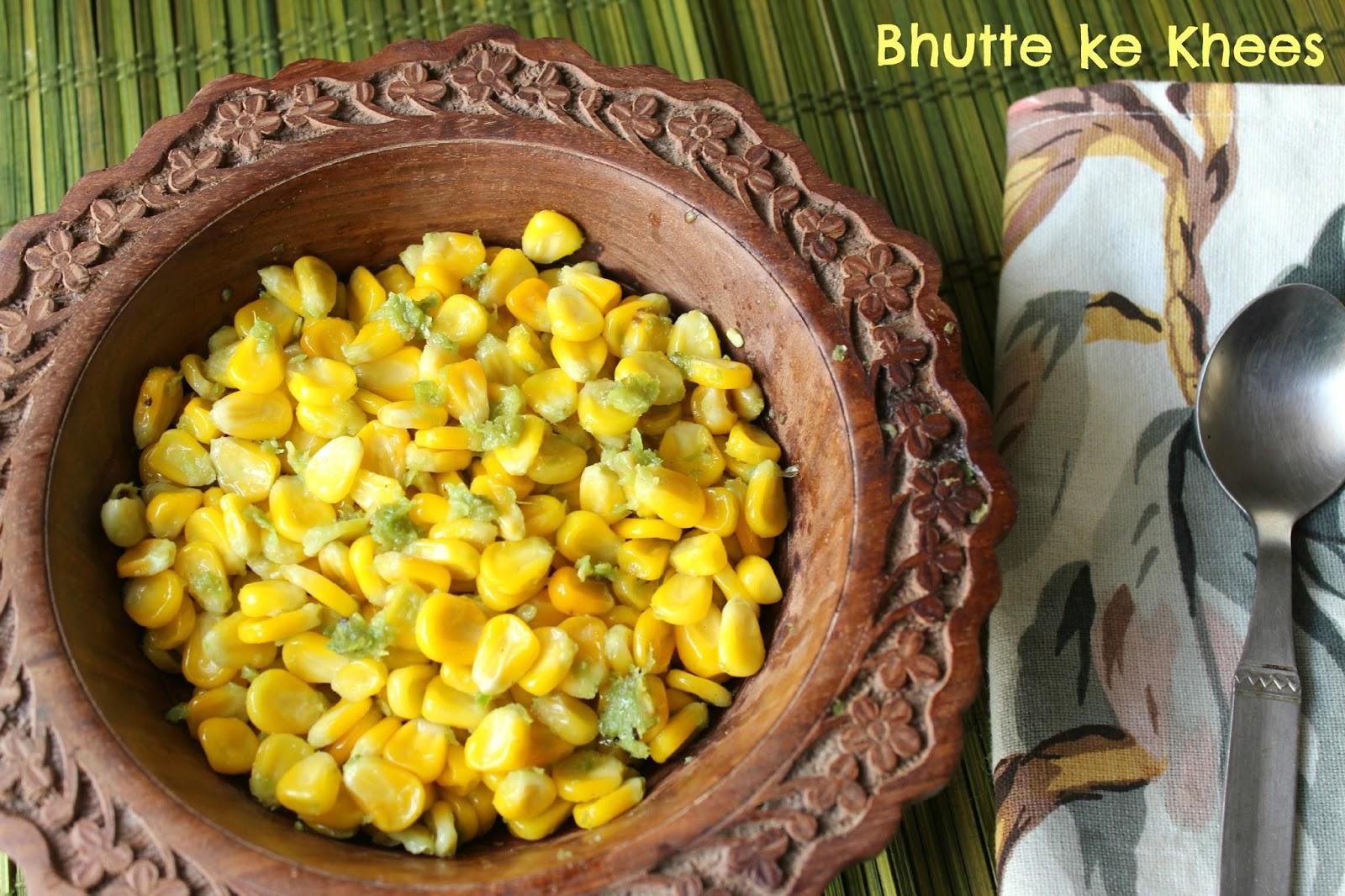 bhutte ke khees