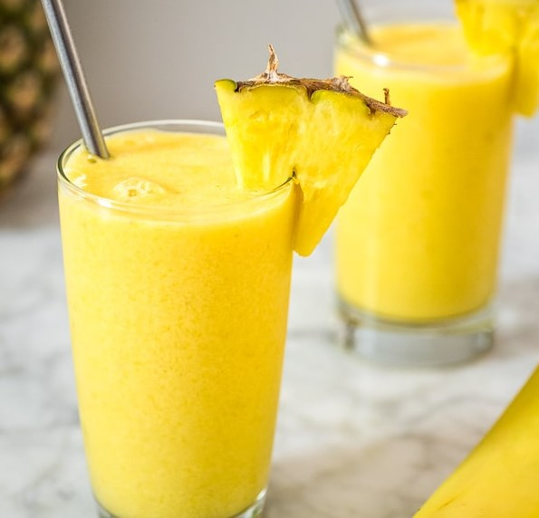 EASY TROPICAL SMOOTHIE RECIPE #drink #bestrecipe