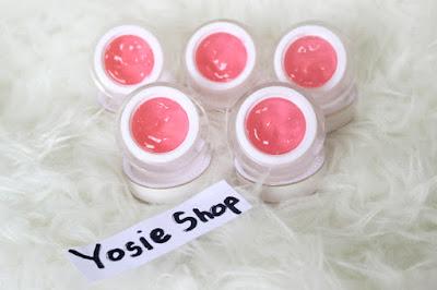 Cream Jelly Pink Whitening Glowing Original Yosie Shop