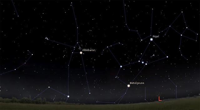 Aldebarã constelação de touro