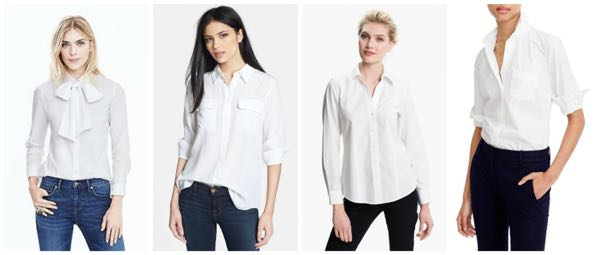 Best White Button-Downs, Nordstrom, Banana Republic