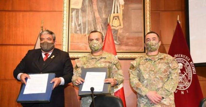 Universidad Nacional de Ingeniería y Ejército fabricarán plantas de oxígeno para abastecer a hospitales