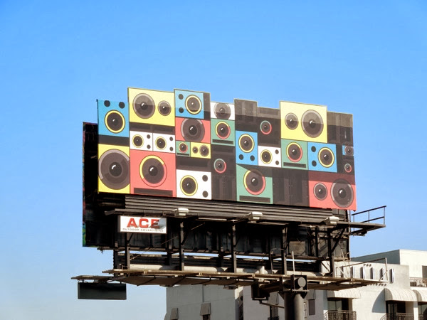 Google Play Unlimited music speakers special extension billboard