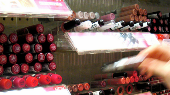 Ode to the cosmetic sample, lipstick testers ate the drugstore