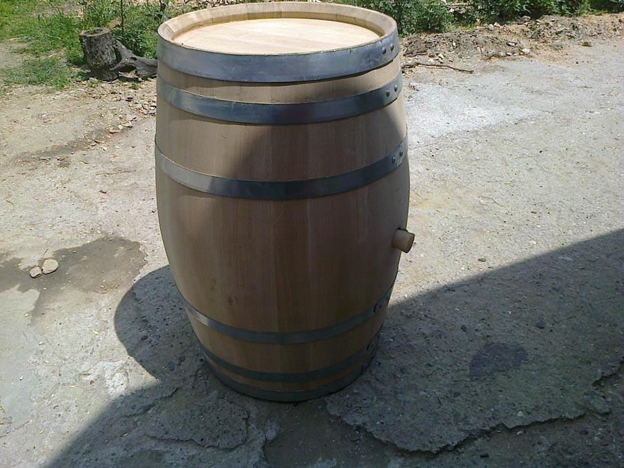 riciclare una vecchia botte in legno soluzioni fai da te