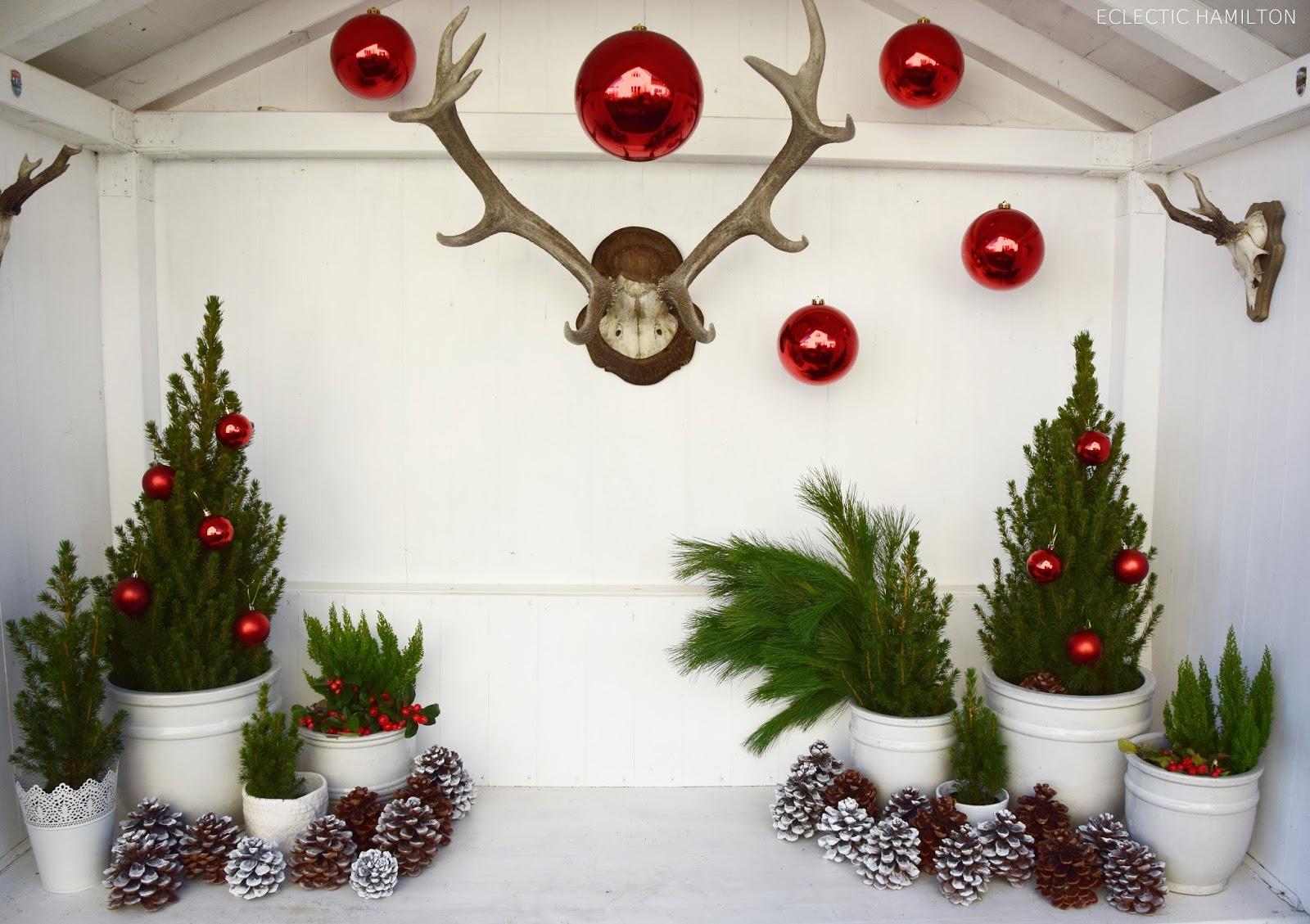 meine erste weihnachtsdeko und deko tipps f r euch eclectic hamilton. Black Bedroom Furniture Sets. Home Design Ideas