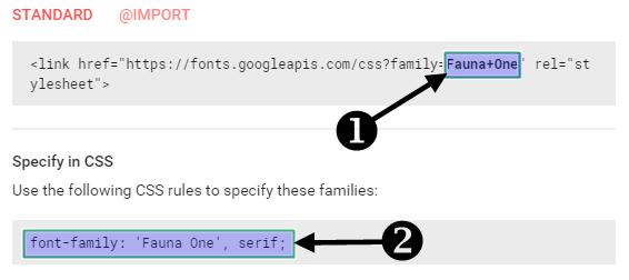 google font ko blog me kaise add karte hain