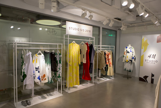 H&M Studio SS18 presentation in showroom Athens