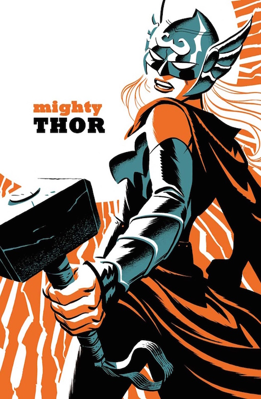 Mighty Thor by Michael Cho.