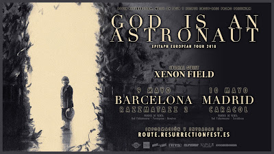 God Is An Astronaut - 09/05/2018 - Sala Razzmatazz2, Barcelona.