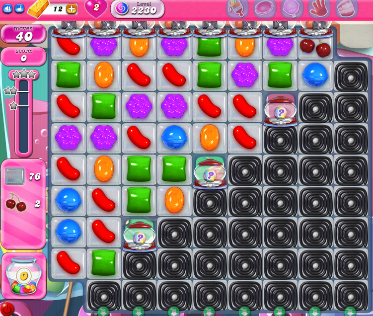 Candy Crush Saga level 2230