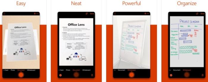 تطبيق-Office-Lens-ايفون