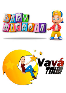 logotipo e mascote para bloco carnavalesco infantil
