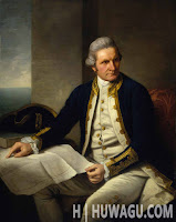 James Cook Perjalanan
