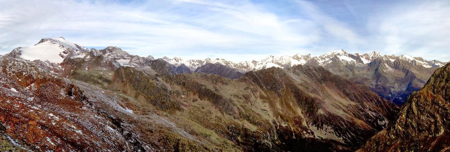 Stubaier Gipfelpanorama