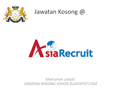 Jawatan Kosong Di Agensi Pekerjaan Asia Recruit Sdn Bhd, Retail Manager/Associate