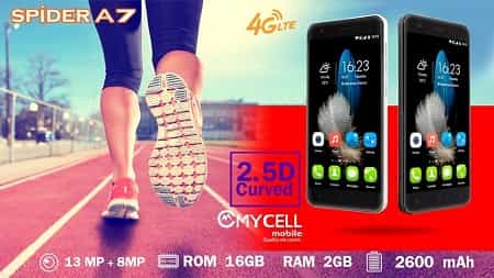 Mycell Spider A7 Smartphone
