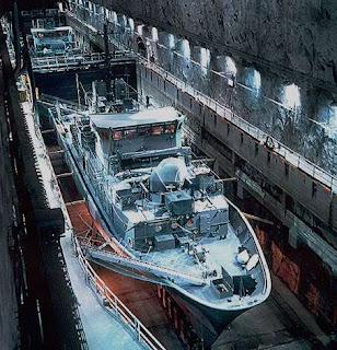 Musko pangkalan militer bawah tanah terbesar di dunia