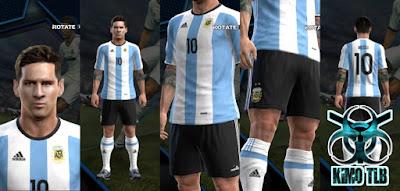 Argentina Kit Copa 2016 Centenario By KIMO T.L.B 19