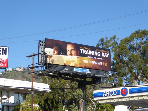 Training Day TV series billboard
