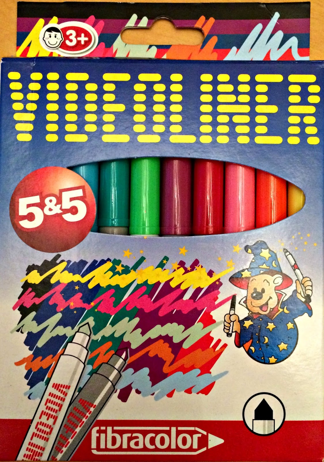 Fibracolor Videoliner Markers from Idealworld.tv