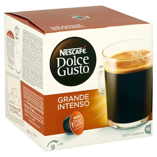 48 servings Nescafe Dolce Grande Intenso Coffee Pods £11.97 100% arabica coffee beans