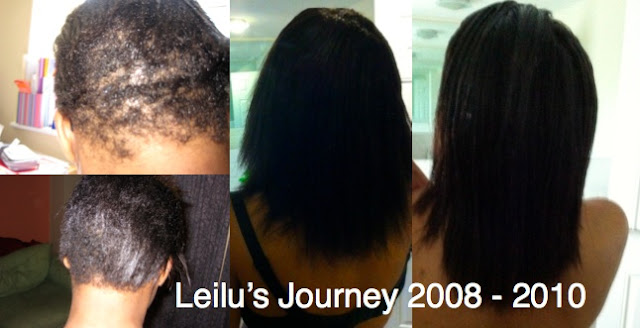 Leilu's hair Journey