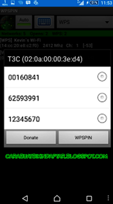 Cara Mengetahui Password wifi di android & iphone tanpa root, dengan memanfaatkan aplikasi WPSPIN