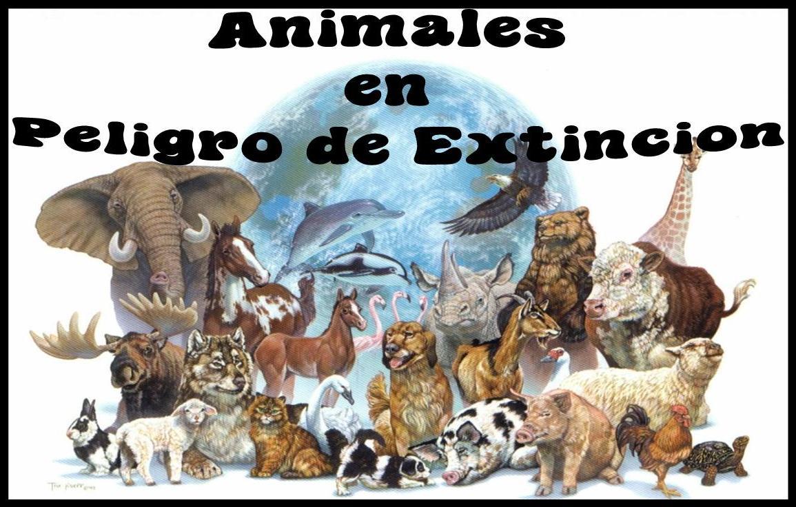 Imagenes De Animales En Extincion Para Imprimir
