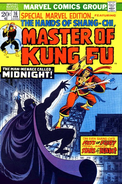 Special Marvel Edition #16, Shang-Chi vs Midnight
