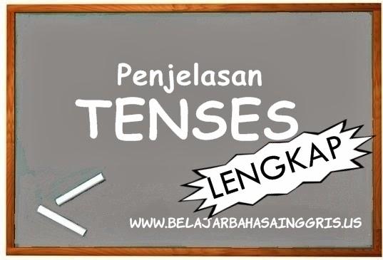 Penjelasan Tenses Bahasa Inggris LENGKAP | www.belajarbahasainggris.us