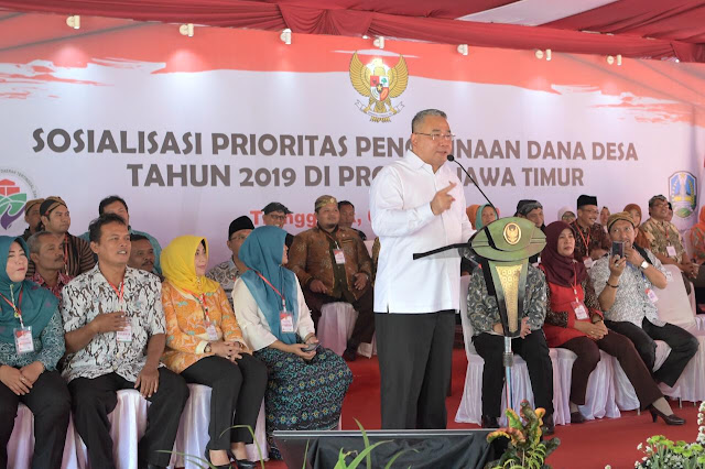 Dampingi Kunjungan Presiden RI, Mendes PDT: Dana Desa Jangan Hanya Fokus Pembangunan Fisik
