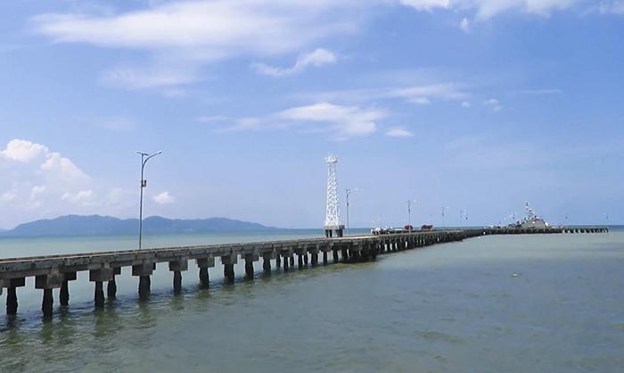 Pelabuhan Sungai Nyamuk, Pulau Sebatik, Kalimantan Utara