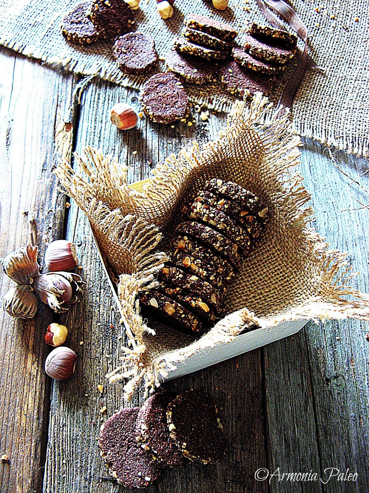 Biscotti Rollò al Cioccolato di Armonia Paleo