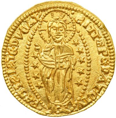 Ducado de Andrea Dándolo c 1354 - reverso