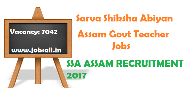 assistant teacher jobs,SSA Teachers Recruitment 2017