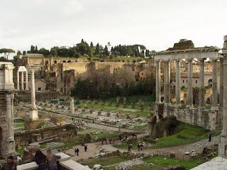 Foro Romano, visto do Palatino