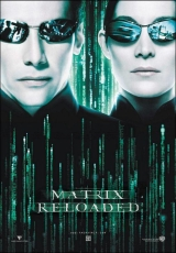 Carátula del DVD Matrix Reloaded