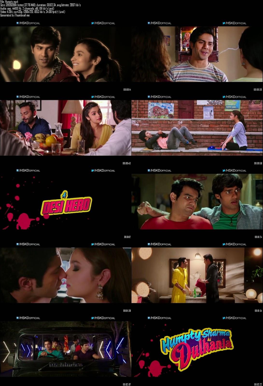 Mediafire Resumable Download Link For Teaser Promo Of Humpty Sharma Ki Dulhania (2014)