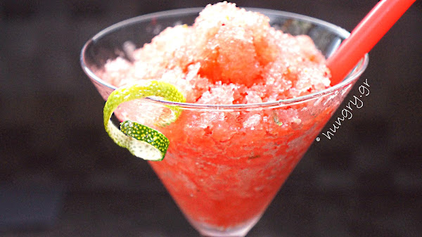 Watermelon & Lime Granita