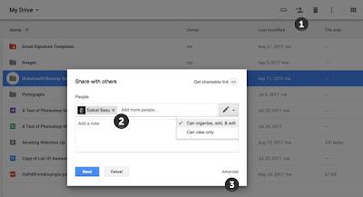 طريقة سهلة لنقل الملفات بن حسابات جوجل درايف المختلفة