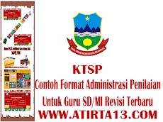 Download Contoh Format Administrasi Guru Penilaian KTSP SD/MI Lengkap