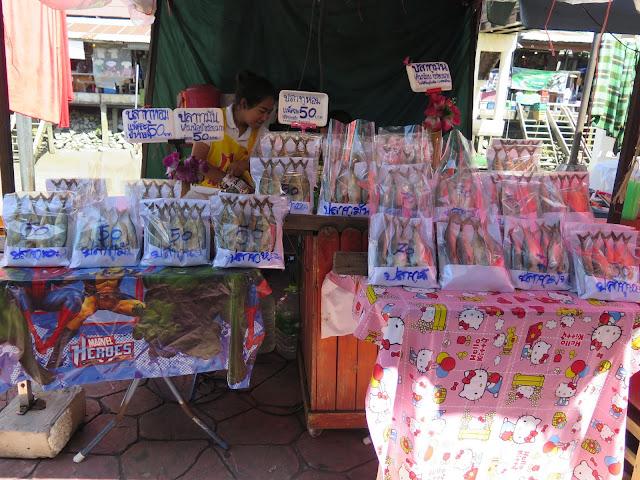 Mercado Flotante de Amphawa