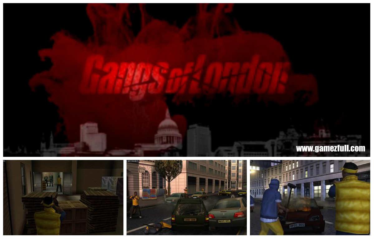 Gangs of London psp capturas del juego
