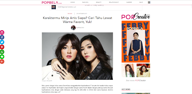 Quiz Popbela, Popbela, Perempuan, Beauty, Fashion, Healthy, Hiburan, IDN Indonesia, Popbela Website, Situs Popbela