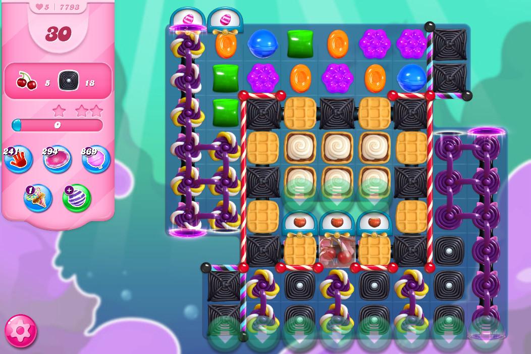 Candy Crush Saga level 7793