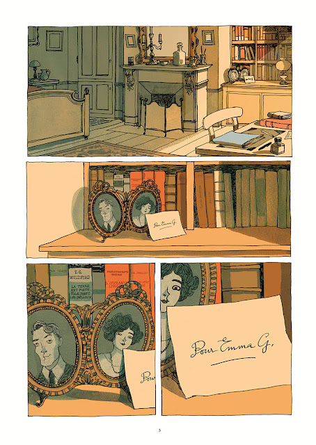 """page de """"Emma G. Wildford"""" de Zidrou et Edith chez Soleil"""