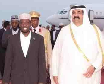Sh. Shariif Sh. Axmed oo qoraal kasoo saaray go'aanka dowladda Somalia ee khaliifka Carabta